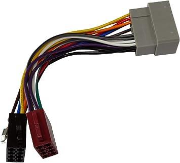 Aerzetix E1 Iso Konverter Adapter Kabel Radioadapter Radio Kabel Stecker Iso Kabel Verbindungs C2032 Auto