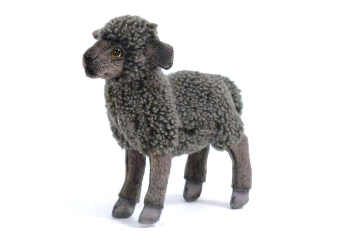 Hansa Kid Sheep Plush, Black