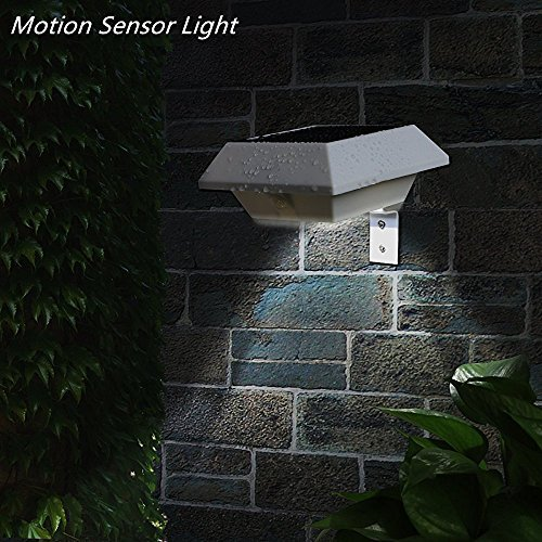 YINGHAO Solar Motion Sensor Light Outdoor PIR Solar Powered Led/Waterproof Durable/Fence Wall Driveway Garden Patio Path Decking Light/Improve Security/Made For Quality Easy Outdoor Life (2 pack)
