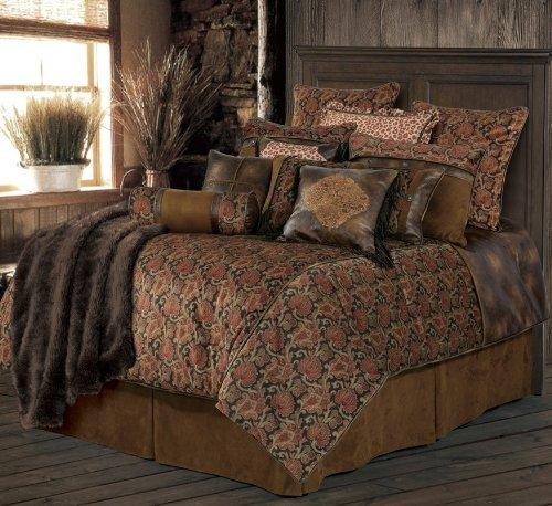 HiEnd Accents Austin Western Bedding Set, Super King