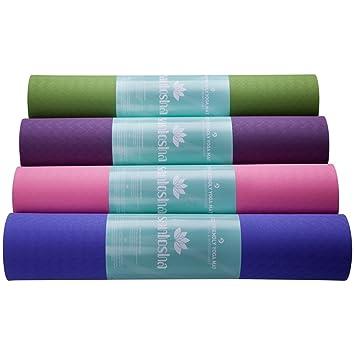 Amazon.com: Esterilla de yoga por Santosha – multiusos ...