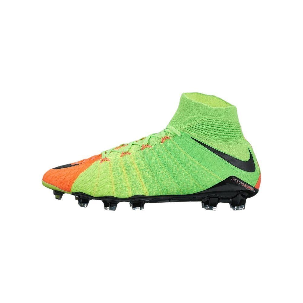 quality design 8f56c 411a7 Amazon.com   Nike Men s Hypervenom Phantom III Dynamic Fit FG Electric  Green Black Hyper Orange Soccer Shoes   Soccer