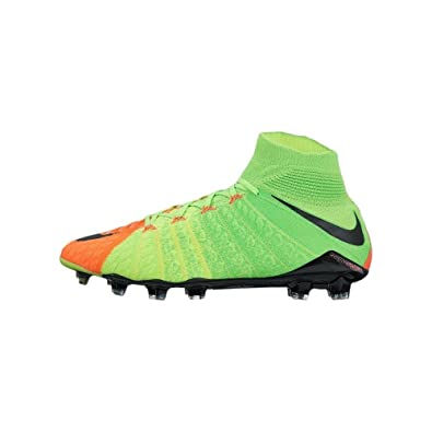 f5f8ed3ca Nike Mens Hypervenom Phantom III Dynamic Fit FG Electric Green Black Hyper  Orange Soccer