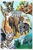 Tampa's Lowry Park Zoo, Florida - Wildlife Montage (12x18 Collectible Art Print, Wall Decor Travel Poster) offers