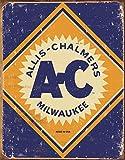 Allis Chalmers Logo Tin Sign , 12x16