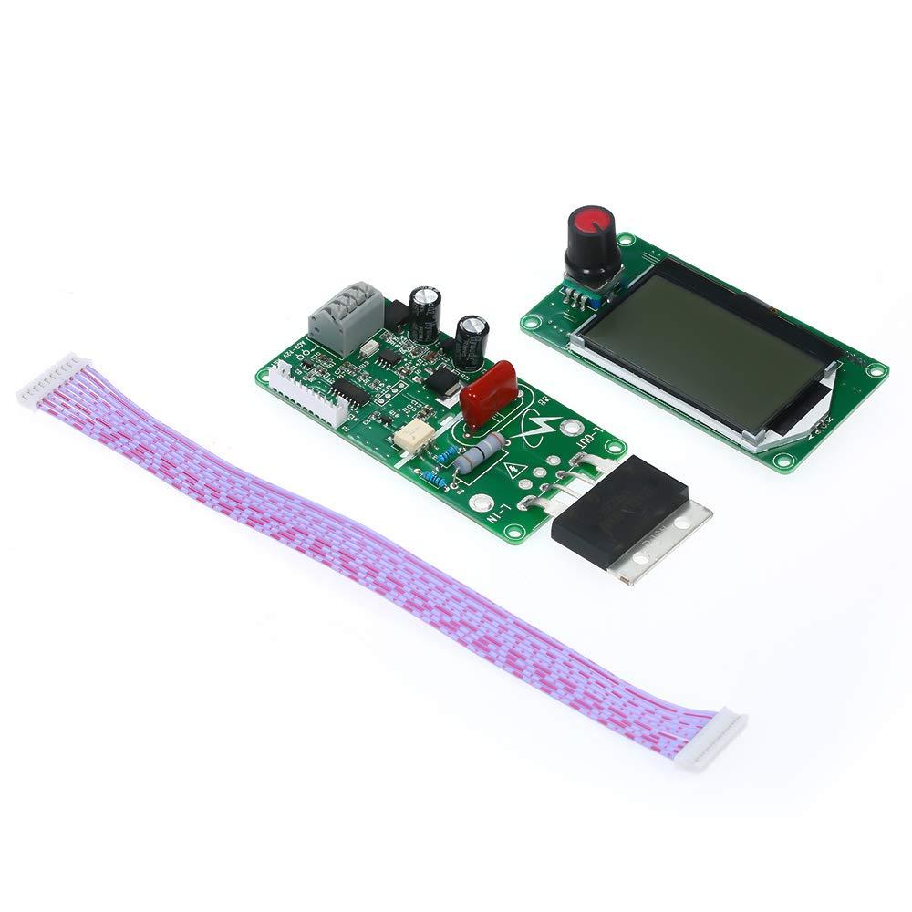 100A LCD Display Digital Doppelimpulsgeber Punktschwei/ßger/ät Controller Board Punktschwei/ßger/ät Steuermodul Punktschwei/ßger/ät-Controller,Baugger