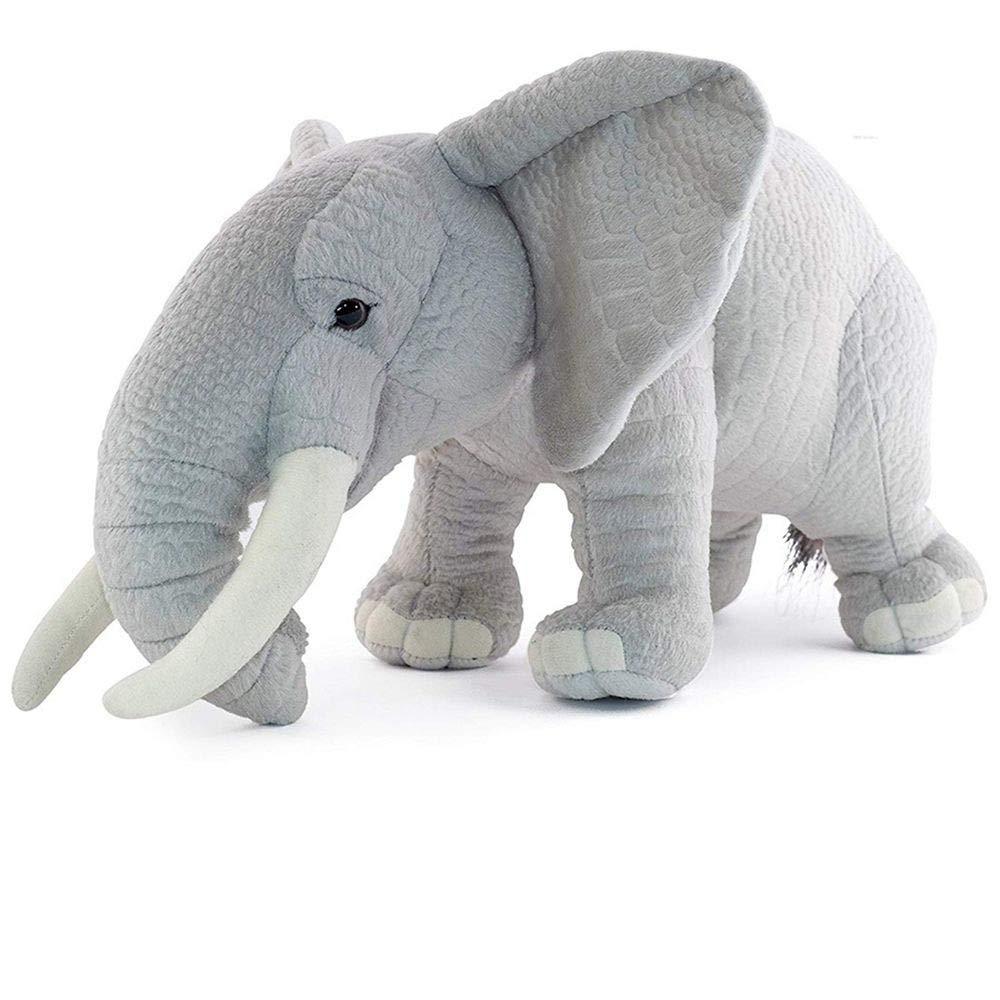 40cm LAIBAERDAN Plush Toy Simulation Animal Elephant Doll Plush Elephant Pillow Pillow Doll Girl Gift 40Cm, 40Cm
