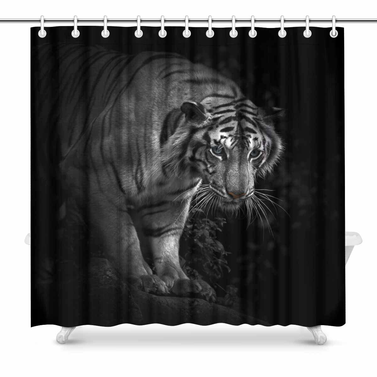 interestprint tigre, tigre de Bengala Juego de tela de ...