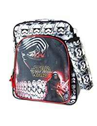 Backpack 'Star Wars'black white red (+ kit)- 37x29x13 cm (14.57''x11.42''x5.12'').