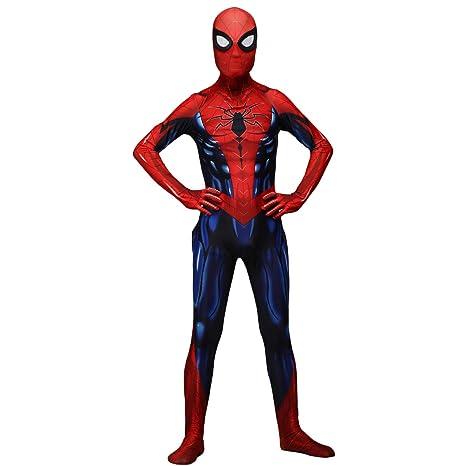 QQWE Traje de Cosplay de Spiderman de Hierro, Traje de ...