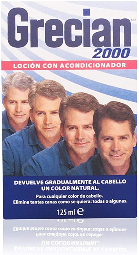 Grecian Loción Colorante Con Acondicionador, Devuelve Gradualmente Al Cabello Un Color Natural