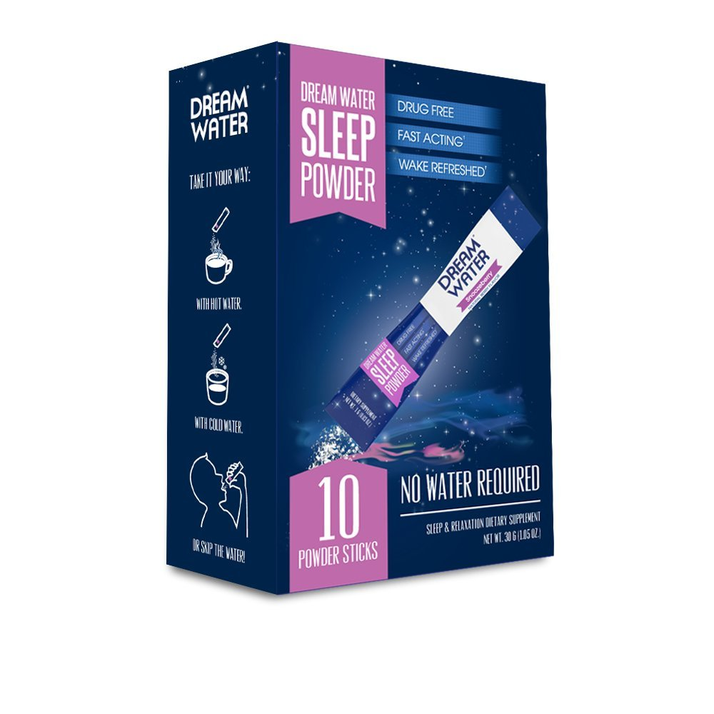 Dream Water Home and Travel Bundle, GREAT VALUE, Sleep Anywhere, FREE Powder 10pk by Dream Water (Image #2)