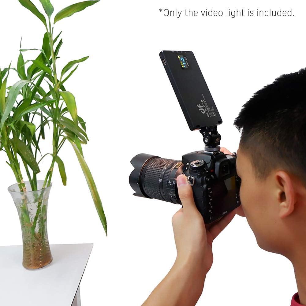 pour Vlogging Photographie de Produits de Mariage vid/éo pour /éclairage de Jour Lepeuxi DF DIGITALFOTO YY120 Lampe vid/éo /à LED Bicolore de 10W Ultra Mince et gradable 3300K-5600K CRI 95