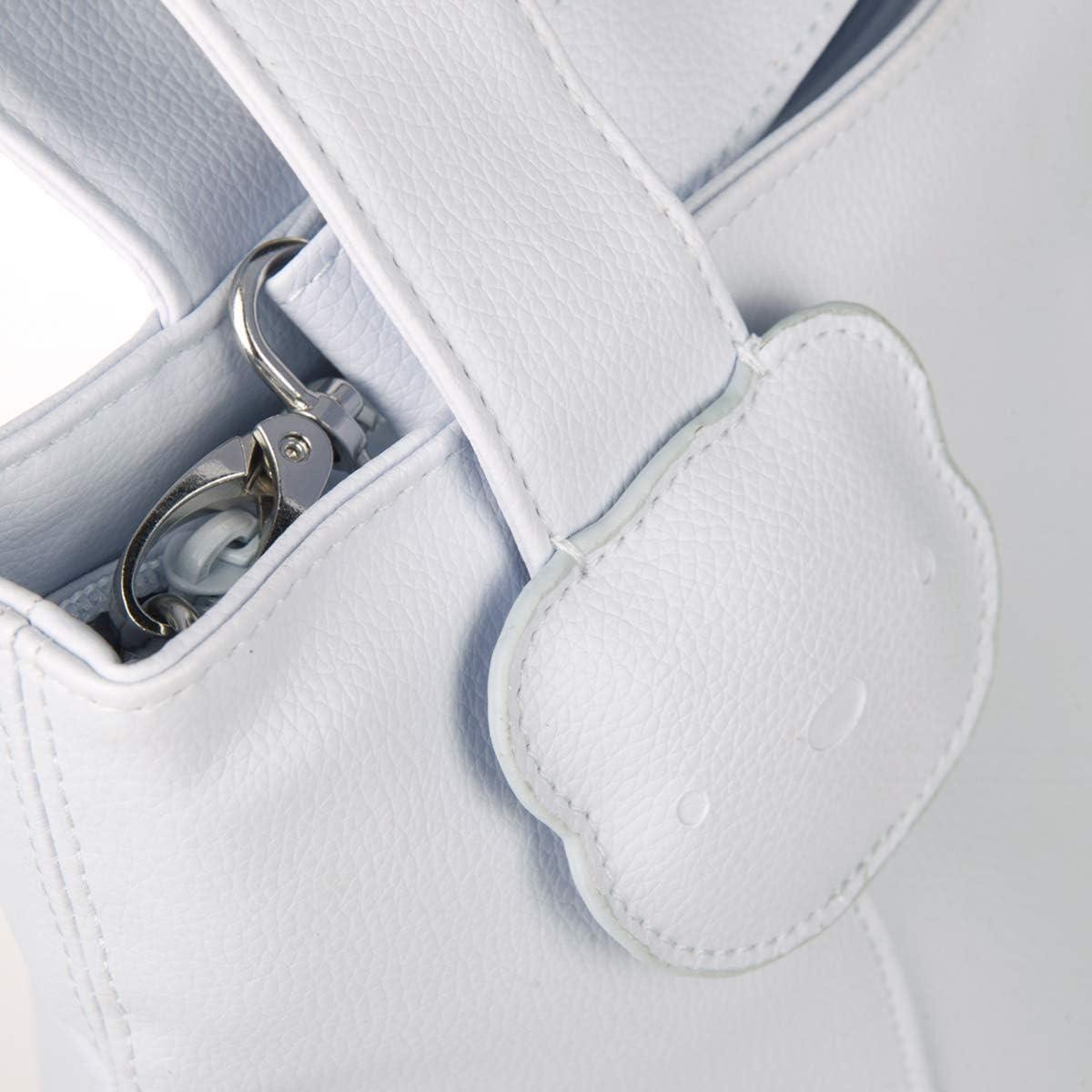 Bolso panera y cambiador de polipiel color beige Tuc Tuc Brioche
