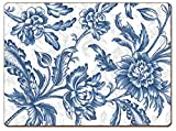 Cala Home 4 Premium Hardboard Placemats Table Mats, Spring Flowers