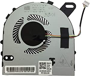 New Laptop CPU Cooling Fan Cooler for Dell Inspiron 15 7560 15-7560 15-7572 Dell Vostro 5468 5568 Series, 0W0J86