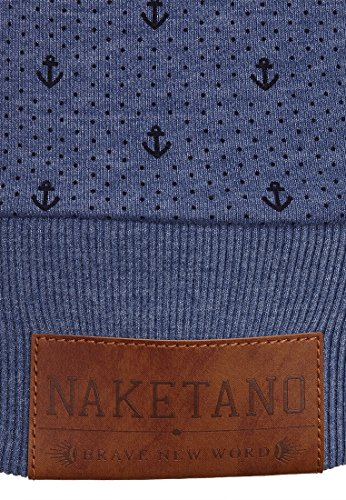 Naketano Extraordinär Female Hoody Blue Melange, S