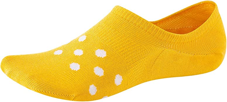 No Show Socks for Women-Low Cut with Non Slip Grip-Invisible Socks for Boat Shoes Sneakers US Size5-8 5Pairs SEESILY