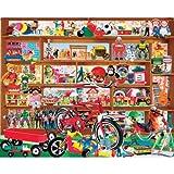 1000 piece jigsaw puzzles on sale - White Mountain Puzzles Vintage Toys - 1000 Piece Jigsaw Puzzle