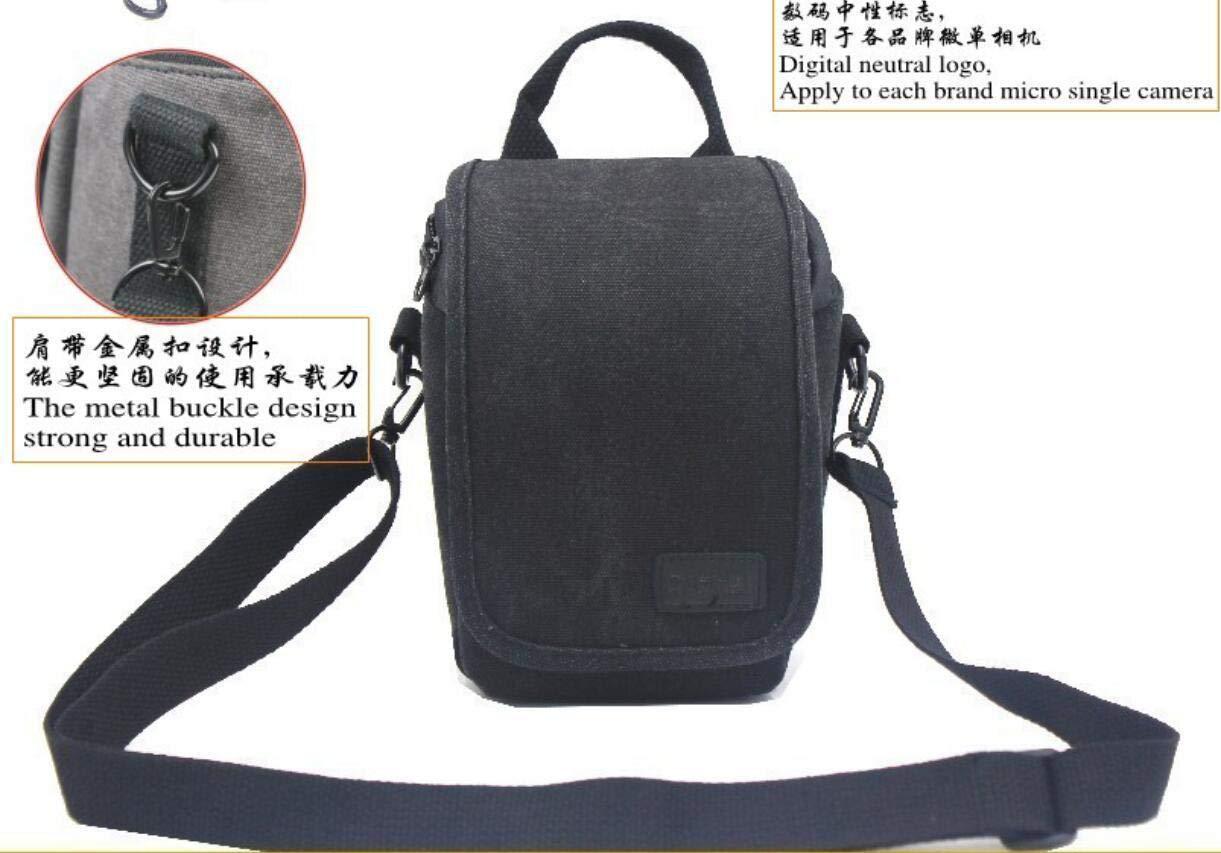 FidgetFidget ショルダーウエストカメラキャリーケースバッグ Samsung Smart NX Mini、NX3000 Z2用   B07MHSQHRB