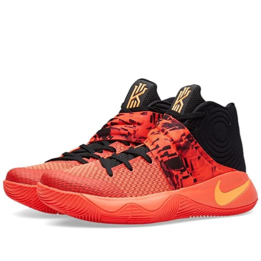 nike kyrie 2 mens hi top basketball trainers 819583 sneakers shoes (US 12,  bright
