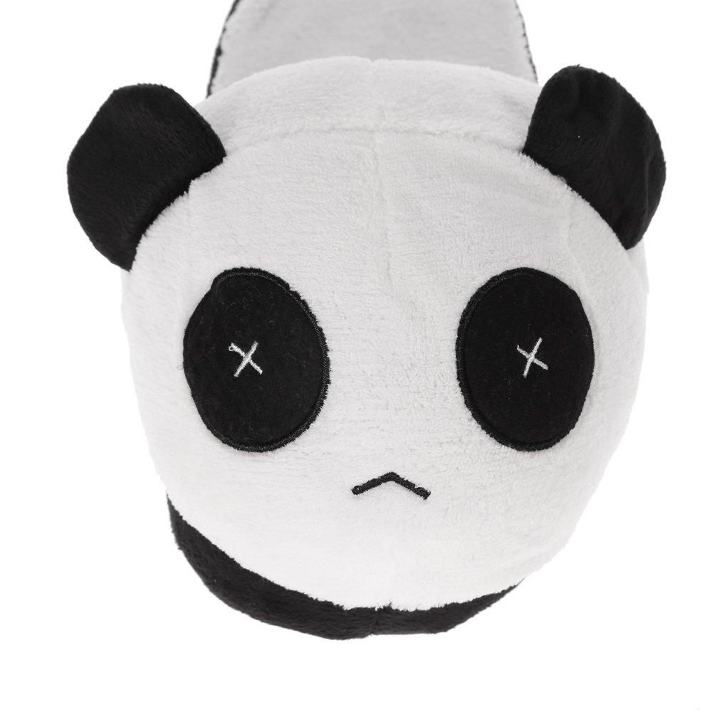 Anself Chaussons homme Cotons Panda Doux en Peluche Hiver Chaud Chaussons  Blanc Noir - Taille unique  Amazon.fr  Cuisine   Maison 3e28f28f52d7