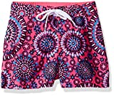 Kanu Surf Big Girls' Sassy UPF 50+ Quick Dry Beach Coverup Boardshort, Melanie Pink, Medium (8/10)