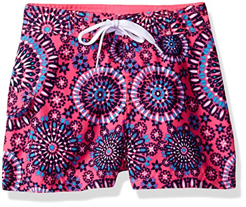 Girls Swimwear Boardshorts - Kanu Surf Big Girls' Melanie Boardshort, Pink, Large (12/14)