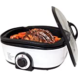 Oypla 8-in-1 1400W Multi Function 5L Slow Cooker Fry Steam Grill Oven