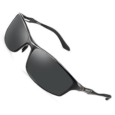52db80ab206 Polarized Sports Sunglasses For Men Fishing Driving Metal Retro Sunglasses