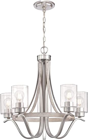 Westinghouse Lighting 6576900 Barnwell Five-Light Indoor Chandelier