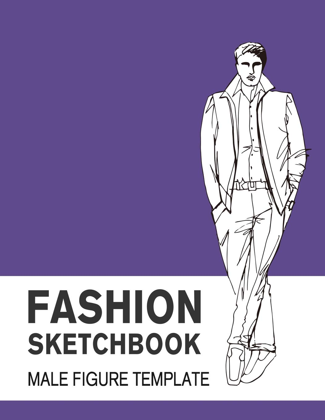 Fashion Sketchbook Male Figure Template Easily Sketch Your Fashion Design With Large Make Figure Template Derrick Lance 9781728812793 Amazon Com Books