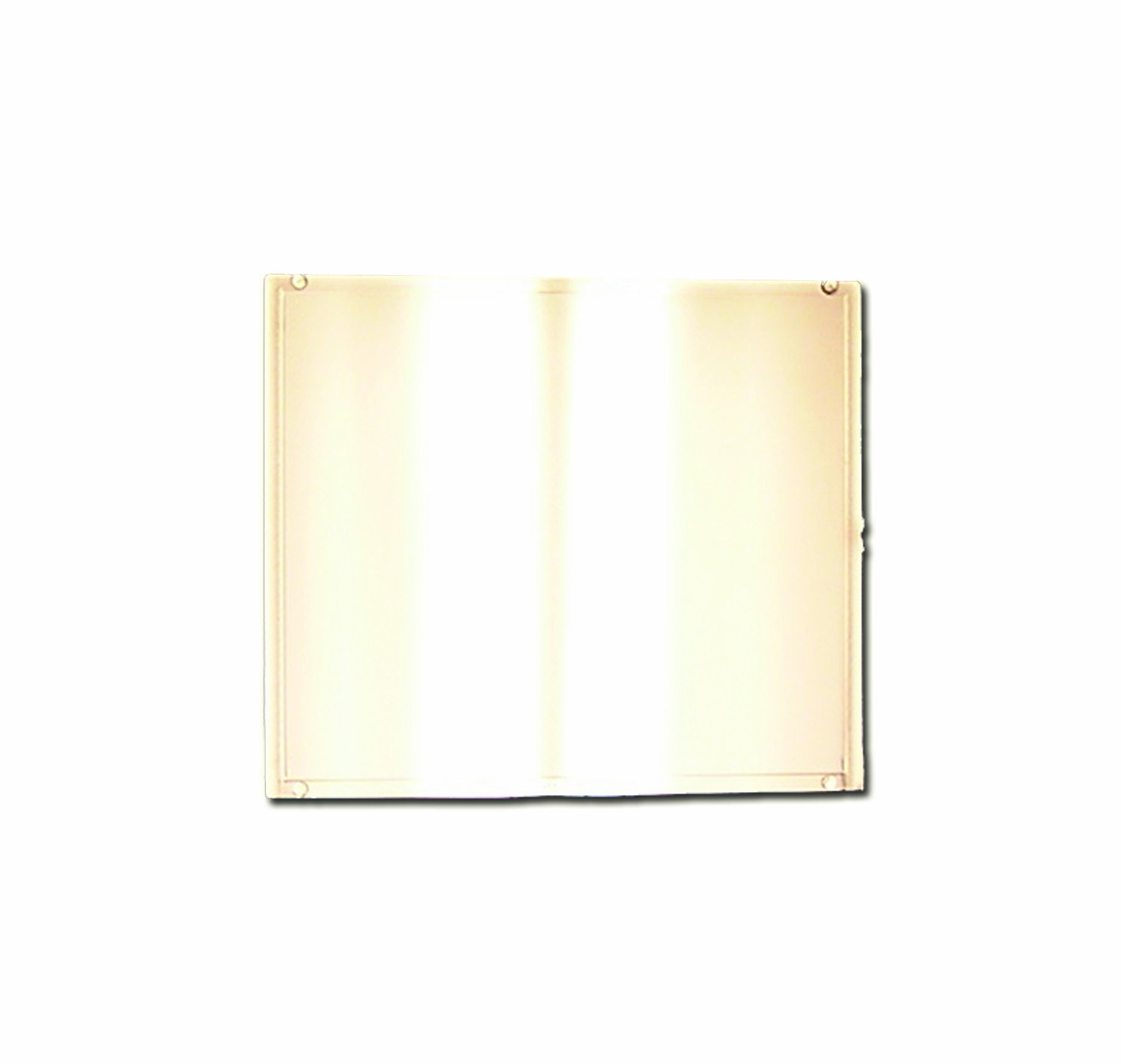 Sellstrom 18712 Gold Coated Polycarbonate Passive Welding Filter Plate, Shade 12, 4-1/2'' Length x 5-1/4'' Width