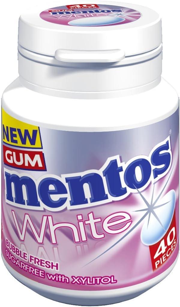 Bubblefresh - Mentos White Sugar Free Chewing Gum