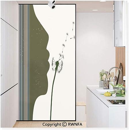 Vinilo adhesivo para ventana de cristal sin pegamento, adhesivo de papel estático para privacidad, decoración de