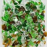 Earthtone Mix Green Terrazzo Glass - American
