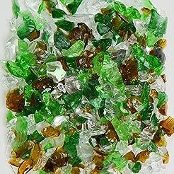 Earthtone Mix Green Terrazzo Glass - Ame...