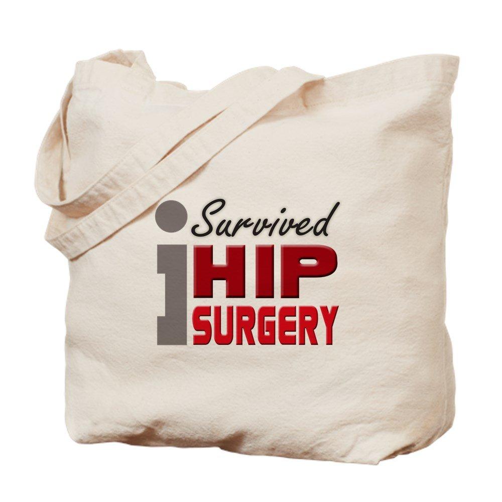 CafePress – ヒップsurgery Survivor – ナチュラルキャンバストートバッグ、布ショッピングバッグ B00WJE3516