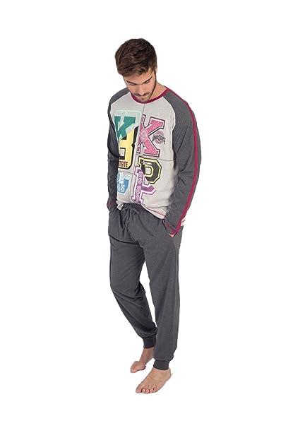 Pijama Massana de Hombre de Invierno no muy grueso p671339 (xxl)
