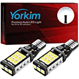 Yorkim 921 LED Bulb 912 led reverse lights High Power 2835 21-SMD Chips Extremely Bright Error Free T15 led bulb Backup Light