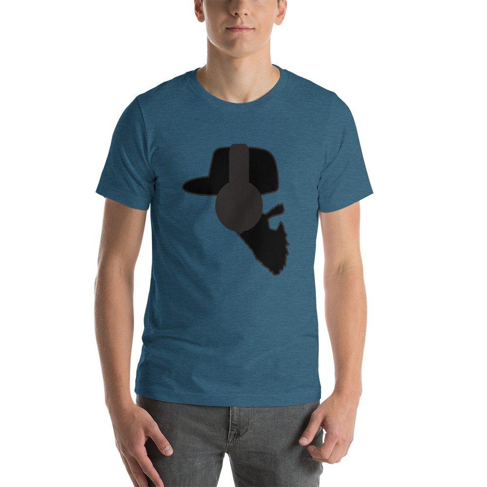 Tronic Worx Beersie Twitch Streamer Beard with Headphones Short-Sleeve Unisex T-Shirt