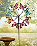 The Lakeside Collection Butterfly Garden Spinner