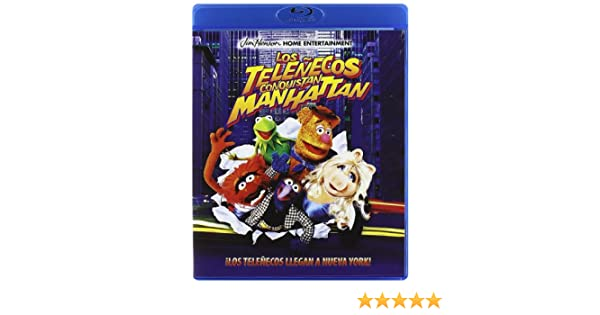 Los Teleñecos Conquistan Manhattan - Bd [Blu-ray]: Amazon.es ...