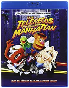 Los Teleñecos Conquistan Manhattan [Blu-ray]