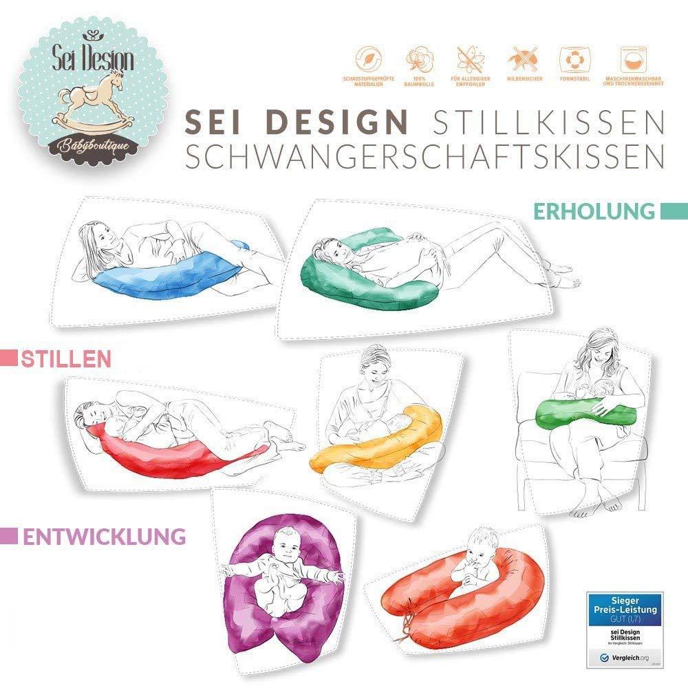 SET Stillkissen Sei Design Sterne Blau XXL EPS noch 1x Bezug