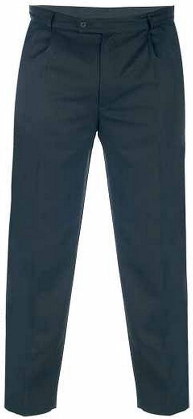 Duke London Pantalones De Tela De Gabardina Modelo Walis En Talla Grande Para Hombre Amazon Es Ropa Y Accesorios