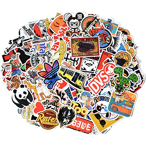 Danslesbls Car Stickers Decals Pack 100 Pieces Bumper Stickers Random Patterns