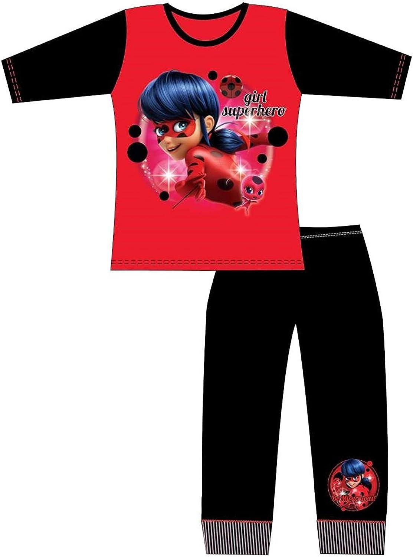 Miraculous Ladybugs Pyjamas - Pijama - para niña Rojo Ladybug ...