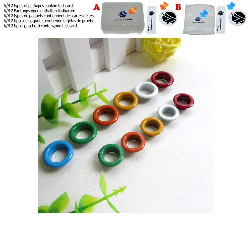 Metall/ösen und /Ösen 8 mm // 10 mm verschiedene Farben 200 St/ück