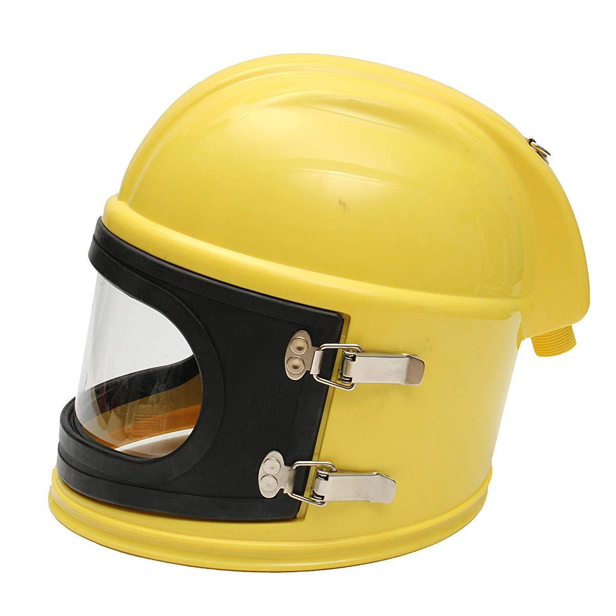 AIR FED Safety Sandblast Helmet Sand Blast Hood Protector for Sandblasting by Anddoa (Image #8)